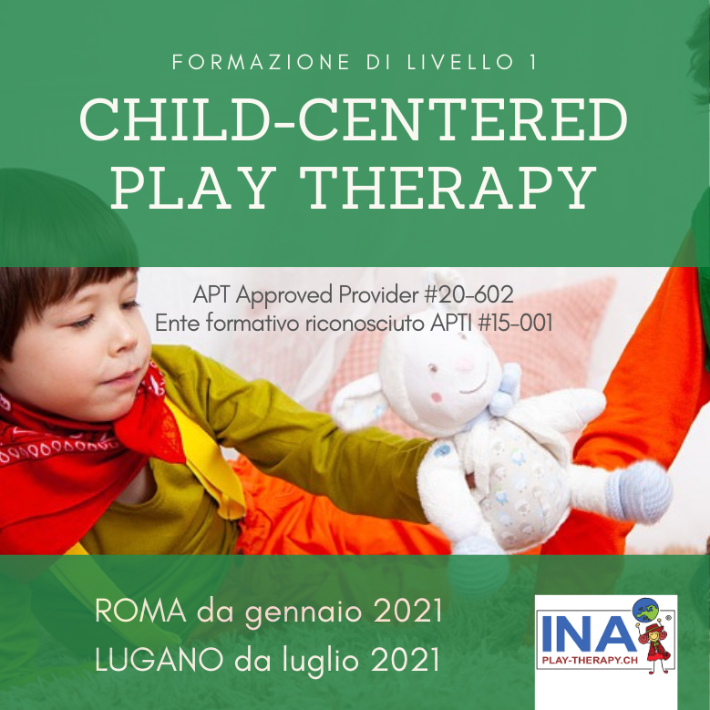 formazione child-centered play therapy per professionisti a lugano e roma